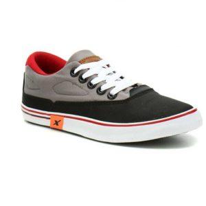 Sparx  SM-322 Canvas Shoes For Men  (Black, Grey)