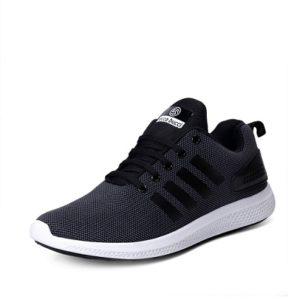 Vov Men's Grey and Black Sport Shoe