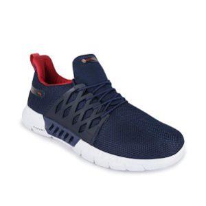 Campus Men's Belgium Running Shoes Navy/Red